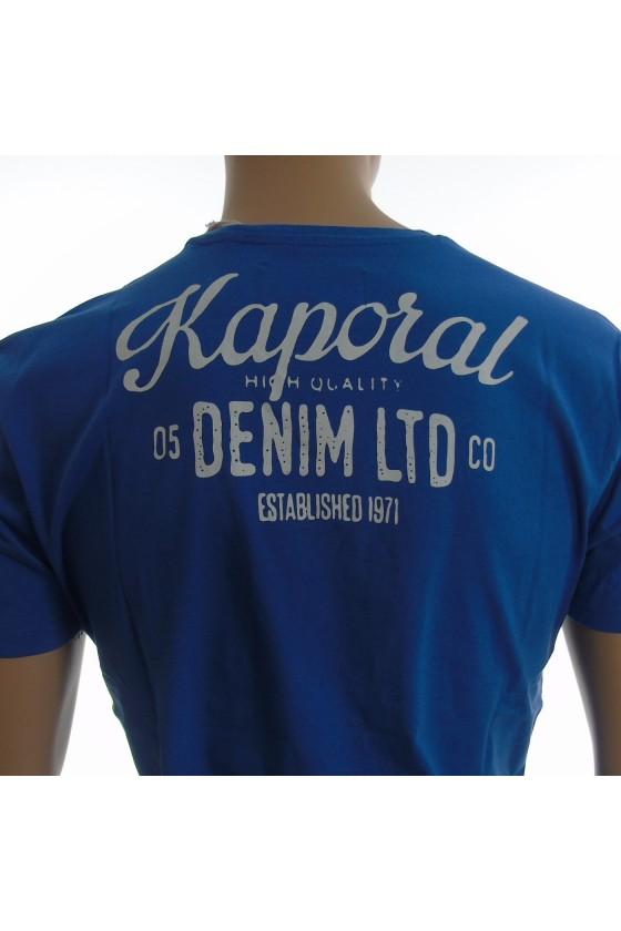 T shirt kaporal homme manches courtes LORDI bleu